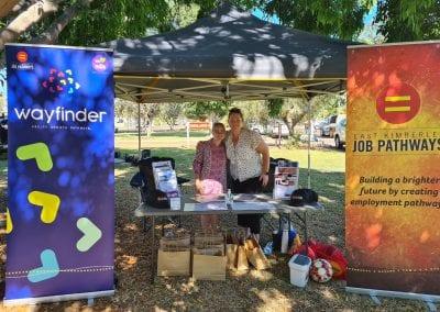 Wayfinder & EKJP at the NAIDOC Week Health Expo